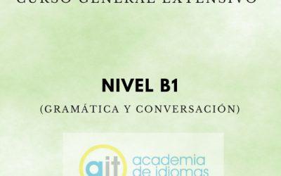 Curso General Extensivo Nivel B1 (Gramática y Conversación)