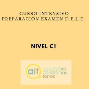SPECIFIC INTENSIVE COURSES (D.E.L.E.) Level C1