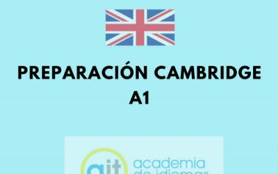Cursos Preparación Cambridge A1