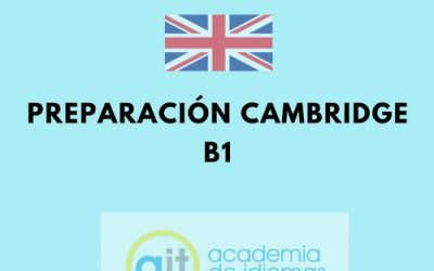 Cursos Preparación Cambridge B1
