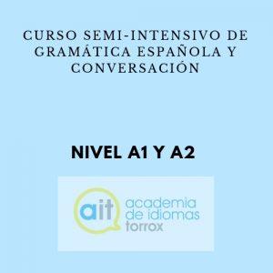 Curso semi-intensivo preparación examen D.E.L.E. (A1 y A2)
