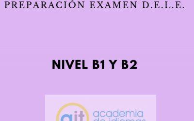 Curso semi-intensivo preparación examen D.E.L.E. (B1 y B2)