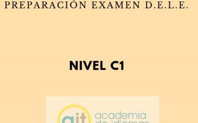 Curso semi-intensivo preparación examen D.E.L.E. (C1)