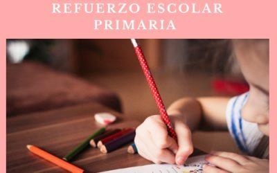 CURSO DE REFUERZO ESCOLAR PRIMARIA